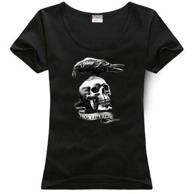 Del De Compre Mujer Algodón 3 Camiseta com Expendables Art YohistoreDhgate Crow The Pareja Ropa Raven Skull Clip Aamp;price; 34qR5jAL