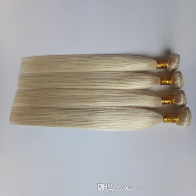 중국어 공장에서 직접 공급 직조 유럽 처녀 인간의 머리 금발 (613) 브라질 인도 베트남 레미 헤어 없음 없음 섬유를 발산하지