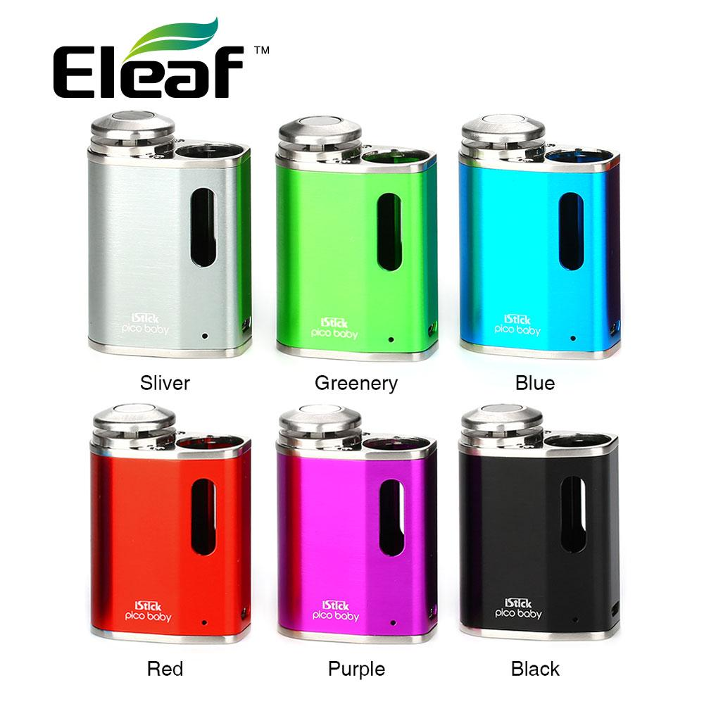 100% Original Eleaf iStick Pico Baby Battery 1050mAh Powered by a built-in 1050mAh battery Best for GS Baby Atomizer 2ml