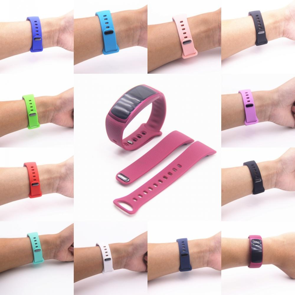 Sports Silicone Strap For Samsung Galaxy Gear Fit2 Pro Band Replace wrist bracelet straps for Samsung Gear Fit 2 SM-R360