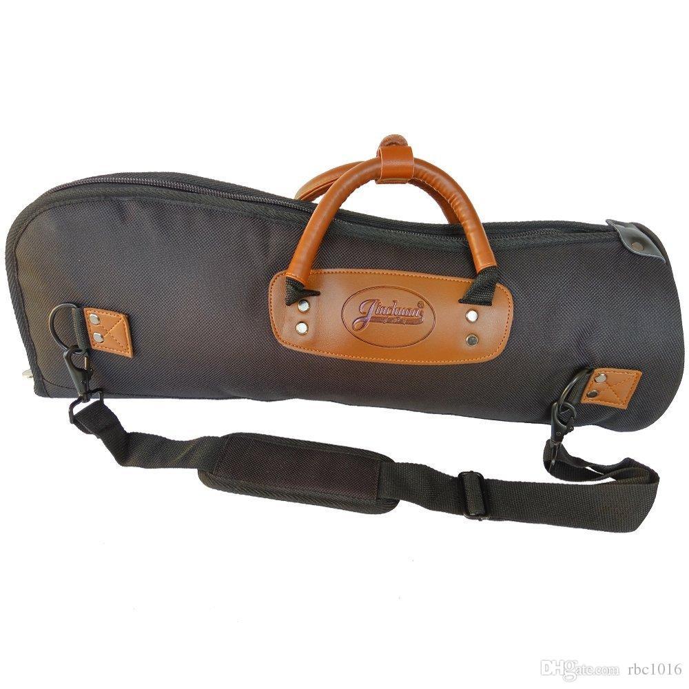 Custodia professionale Clarino Trumpet Custodia impermeabile imbottita in tessuto 15 mm con imbottitura regolabile e morbida impugnatura in pelle a mano A-15A