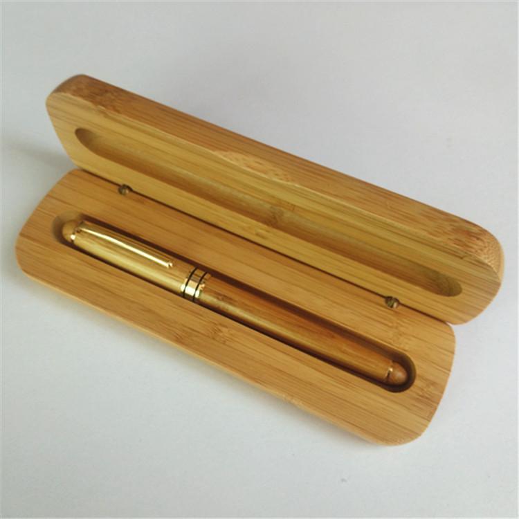비지니스 선물 장식 쓰기 사무실 볼펜 문구 8702에 대한 뜨거운 판매 대나무 고급 만년필 잉크 0.5mm의