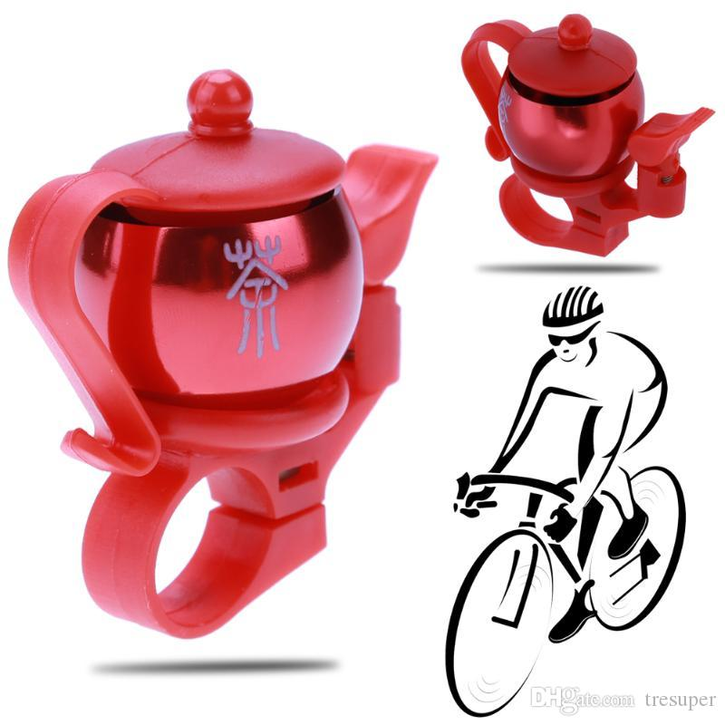 2018 New Teapot Cycling Bel Sound Resounding Aluminum Road Bike Bicycle Bell