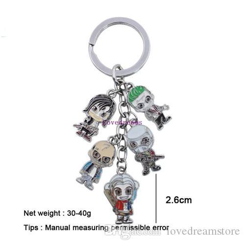 Brand New Harley Quinn Metal Keychain