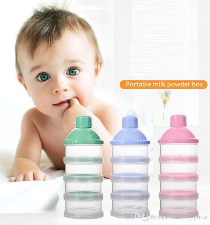Kids Food Bottle Container Feeding Milk Powder Boxes Baby Milk Formula Dispenser