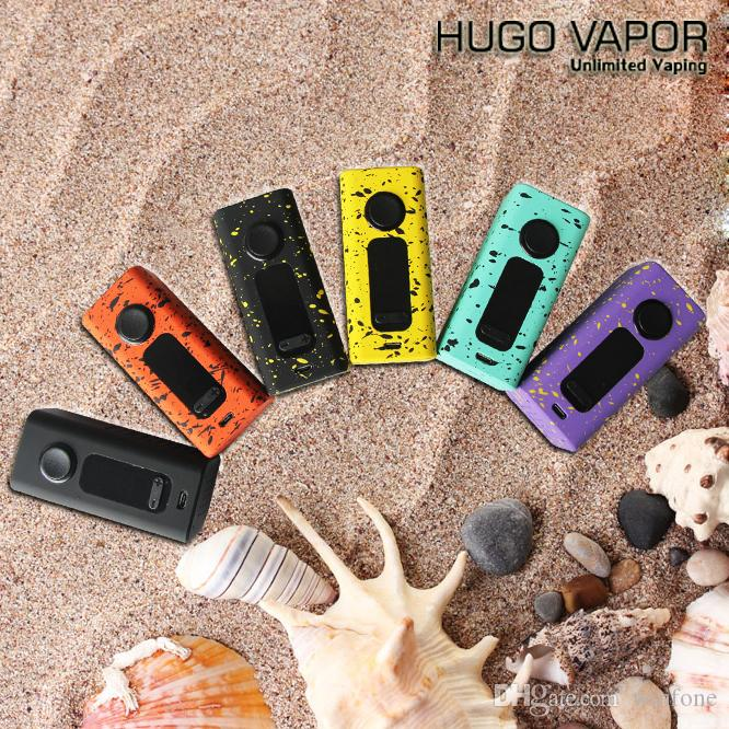 Original Hugo Vapor Boxer V2.0 188W Vape Mod Zinc Box Mod Electronic Cigarette Mod Support By Dual 18650 Batteries