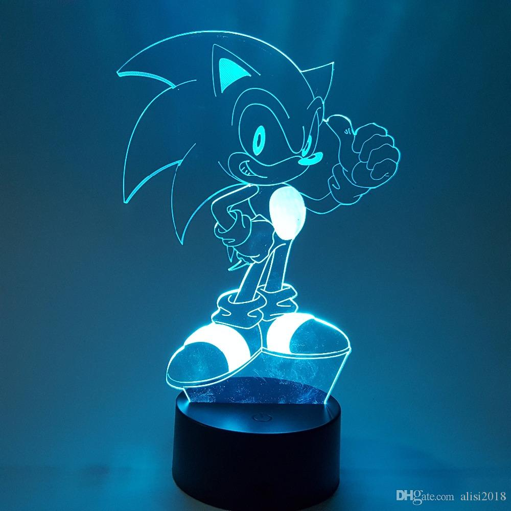 2020 Sonic 3d Nightlight Visual Illusion Led Rgb Changing Sonic The Hedgehog Action Figure Novelty Light For Christmas From Alisi2018 23 52 Dhgate Com