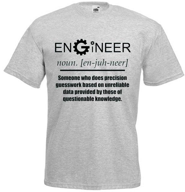 Engineer - Noun Mens Youth COG Design Novelty Funny Gift Joke Inspired Birthday