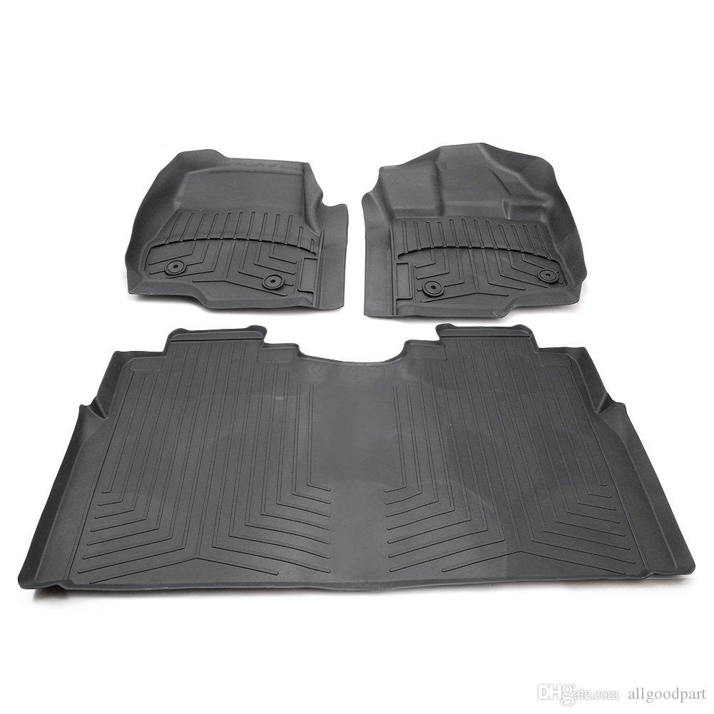 2019 Allgt For 2017 Ford F 150 F 250 F 350 Supercrew All Weather Rubber Slush Floor Mats Set From Allgoodpart 134 68 Dhgate Com