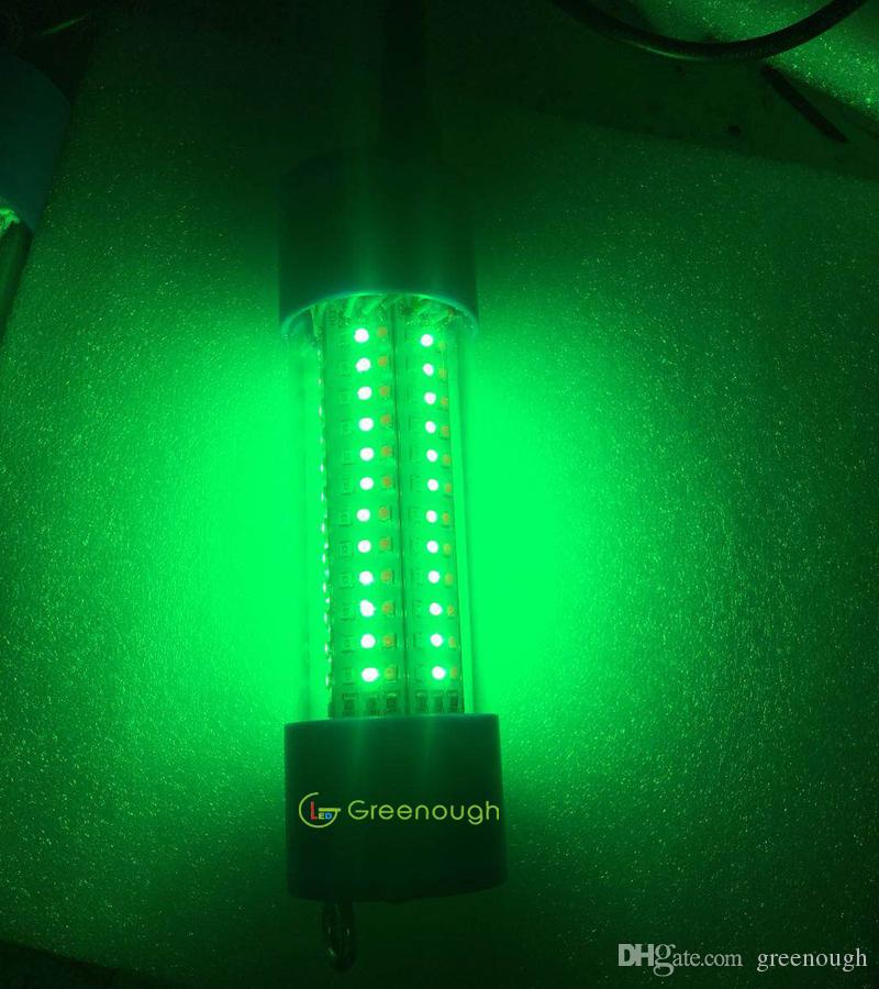 30W 2400LM LED Green Underwater Submersible Night Fishing Light Collecting Fish