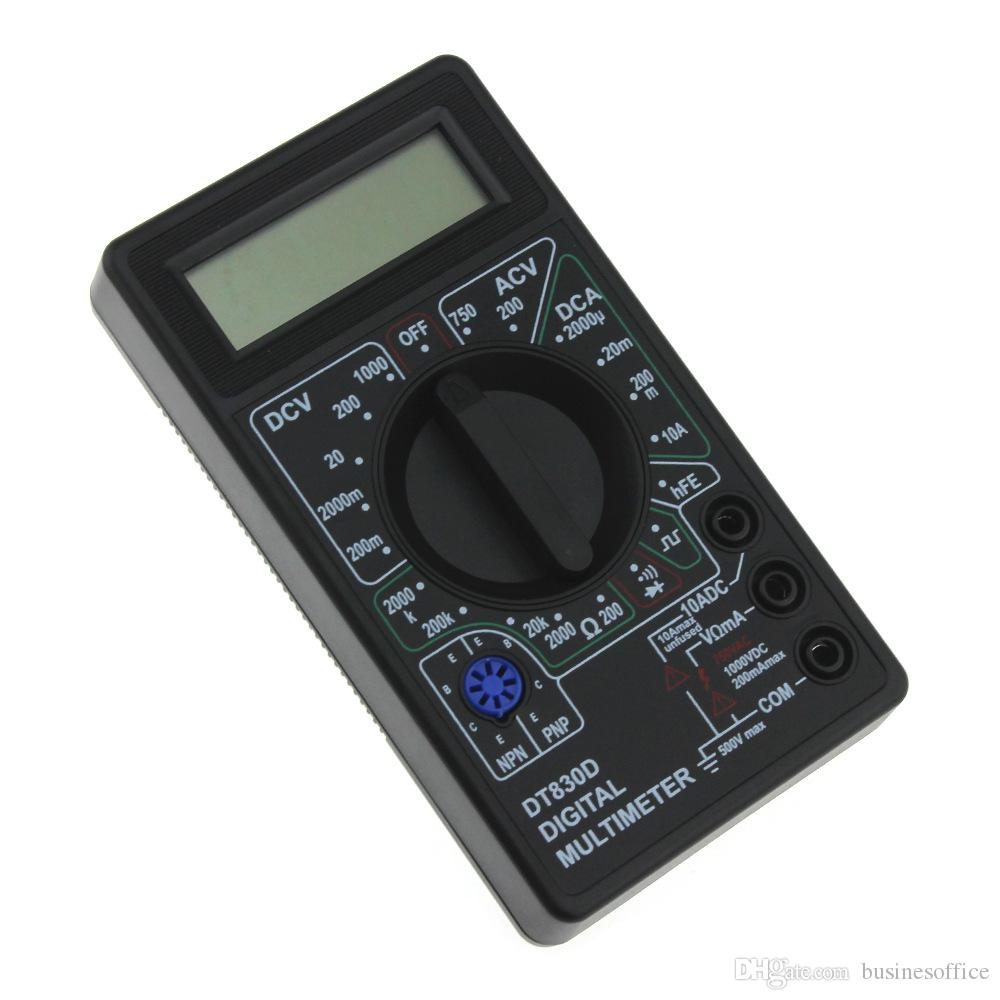 Misuratore digitale universale per prova di rotture di interruzione AC DC multimetro digitale