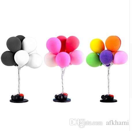 Miniature Resin Balloons Micro Garden Plant Flower Bonsai Dollhouse Decorations