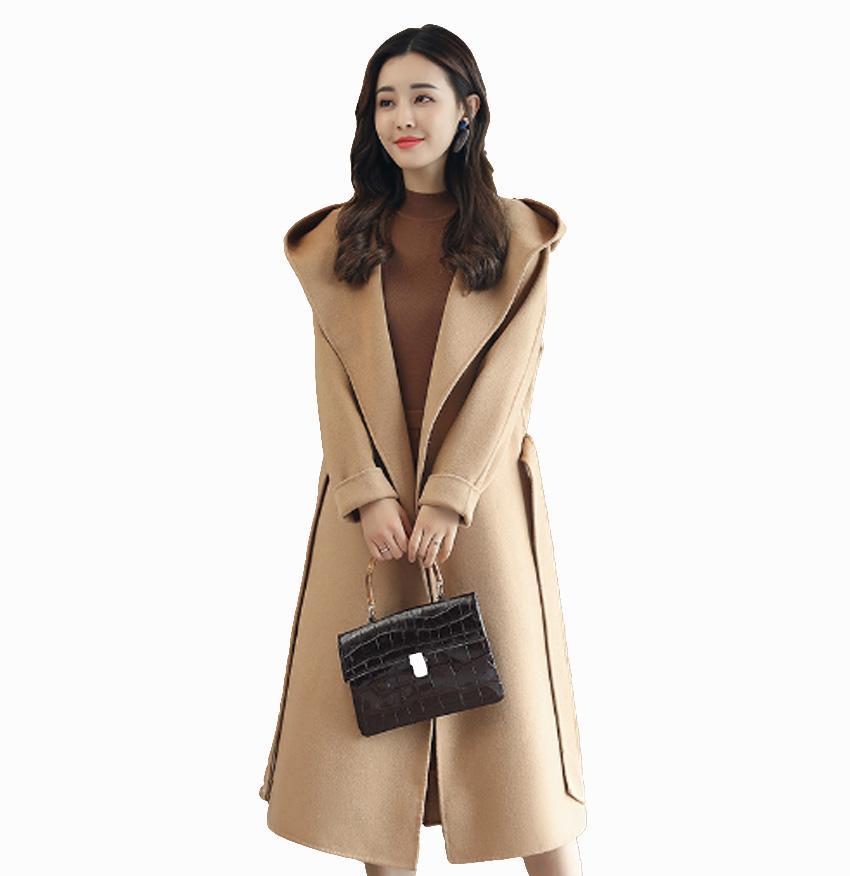 Fliegen ROC 2018 Winterfrauen lang plus Größe Mantelqualitätsart und weisefrauenkorea-Art eleganter femme outwear spätester Entwurf