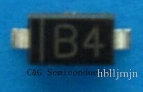 100 UNIDS MBR0540T1G MBR0540 Diodos Schottky SOD123 B4 0.5A 40V de montaje en superficie