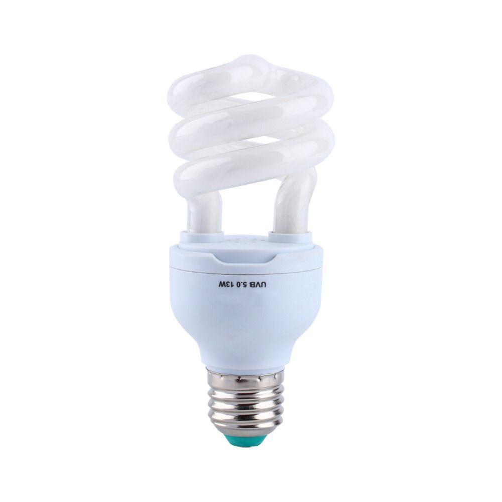 E27 Rettile 5.0 10.0 UVB UVA 13W Lampada fluorescente fluorescente fluorescente fluorescente lampadina del deserto Desert Rettili e anfibi