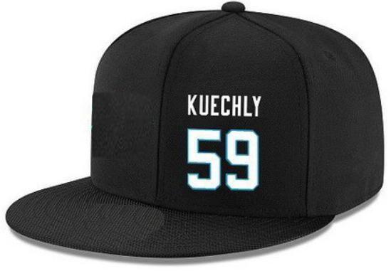 Cappelli snapback personalizzati Qualsiasi numero nome giocatore # 59 Cappello Kuechly # 88 OLSEN Cappellini personalizzati TUTTI I team accettano logo personalizzato