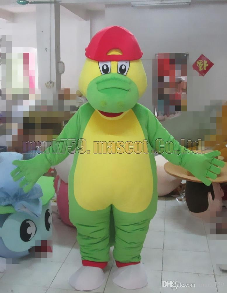 crocodile mascot costume Free Shipping Adult Size,green alligator mascot luxury plush toy carnival party celebrates mascot factory sales.