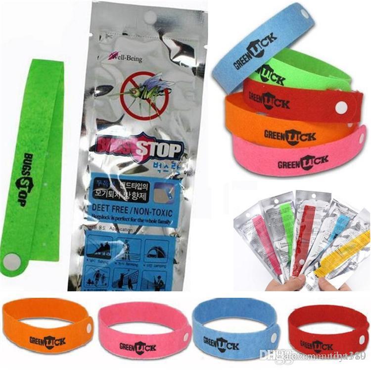 Новый Комаров ленточные браслеты Anti Mosquito чистый природный детские браслеты ручной кольцо женщин и мужчин 4076
