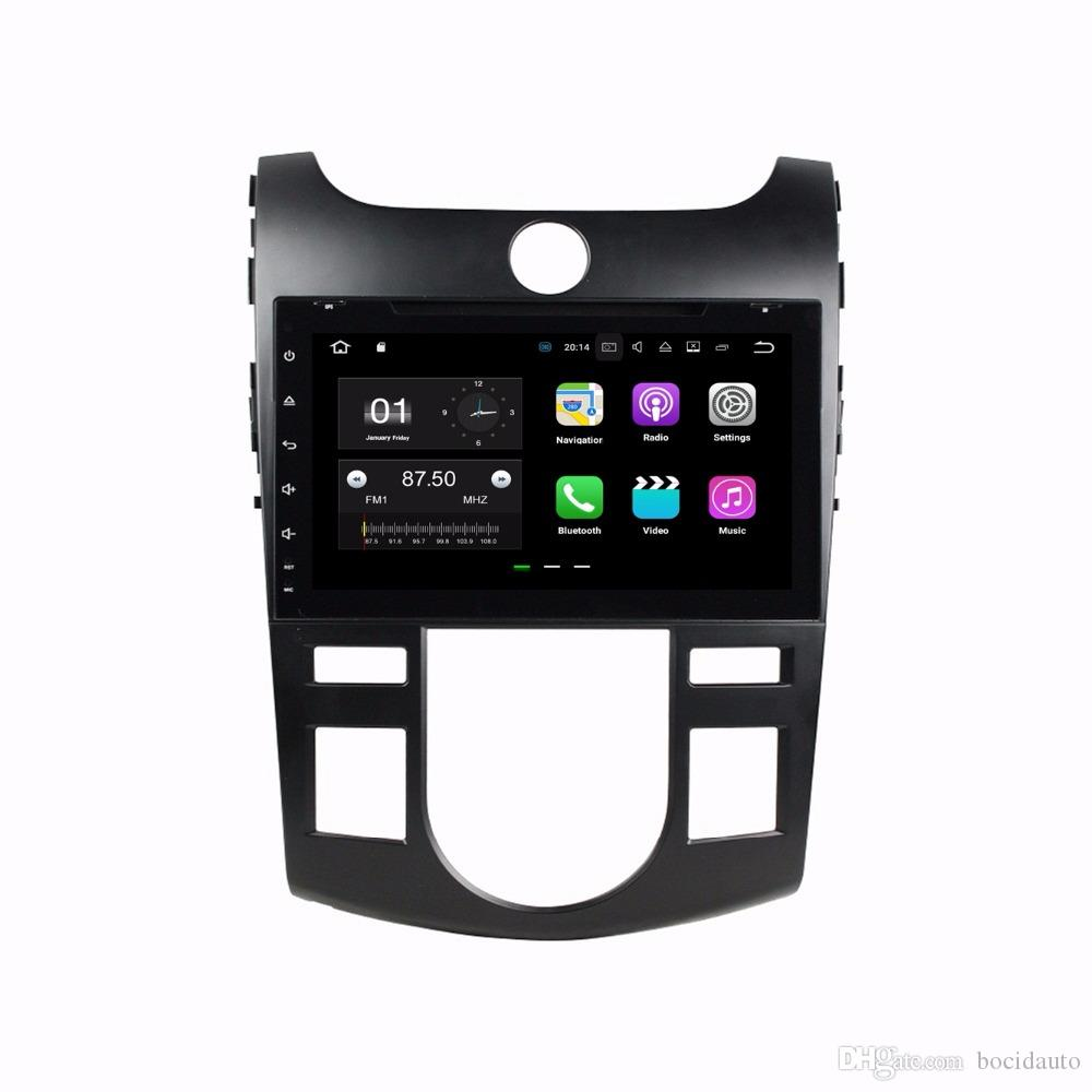 """رباعي النواة 2 الدين 8 """"أندرويد 7.1 سيارة دي في دي GPS لكيا فورتي سيراتو 2008 2009 2010 2011 راديو 2GB RAM بلوتوث WIFI 16GB ROM"""