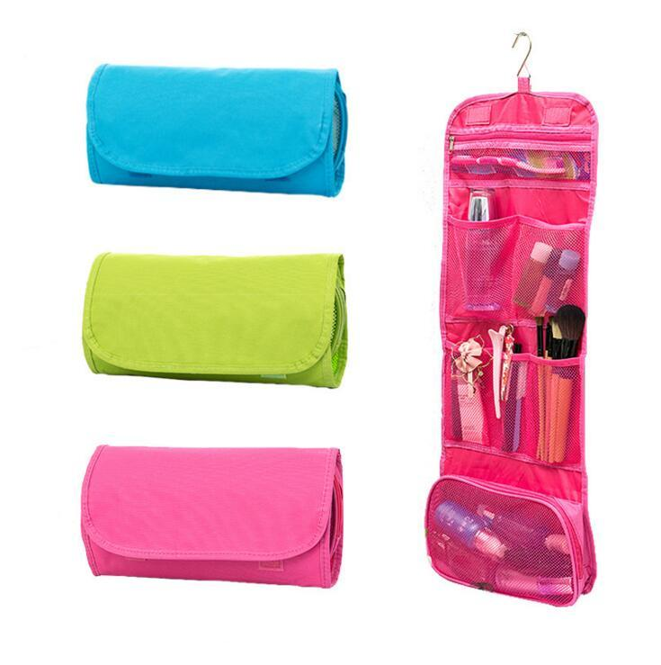 Cosmetic Storage Bag Multifunctional Portable Folding Travel Storage Bag  Wall Hanging Makeup Organizer Pouch Sundries Bag NZ 2019 From Yiwuxiuxue,  NZ