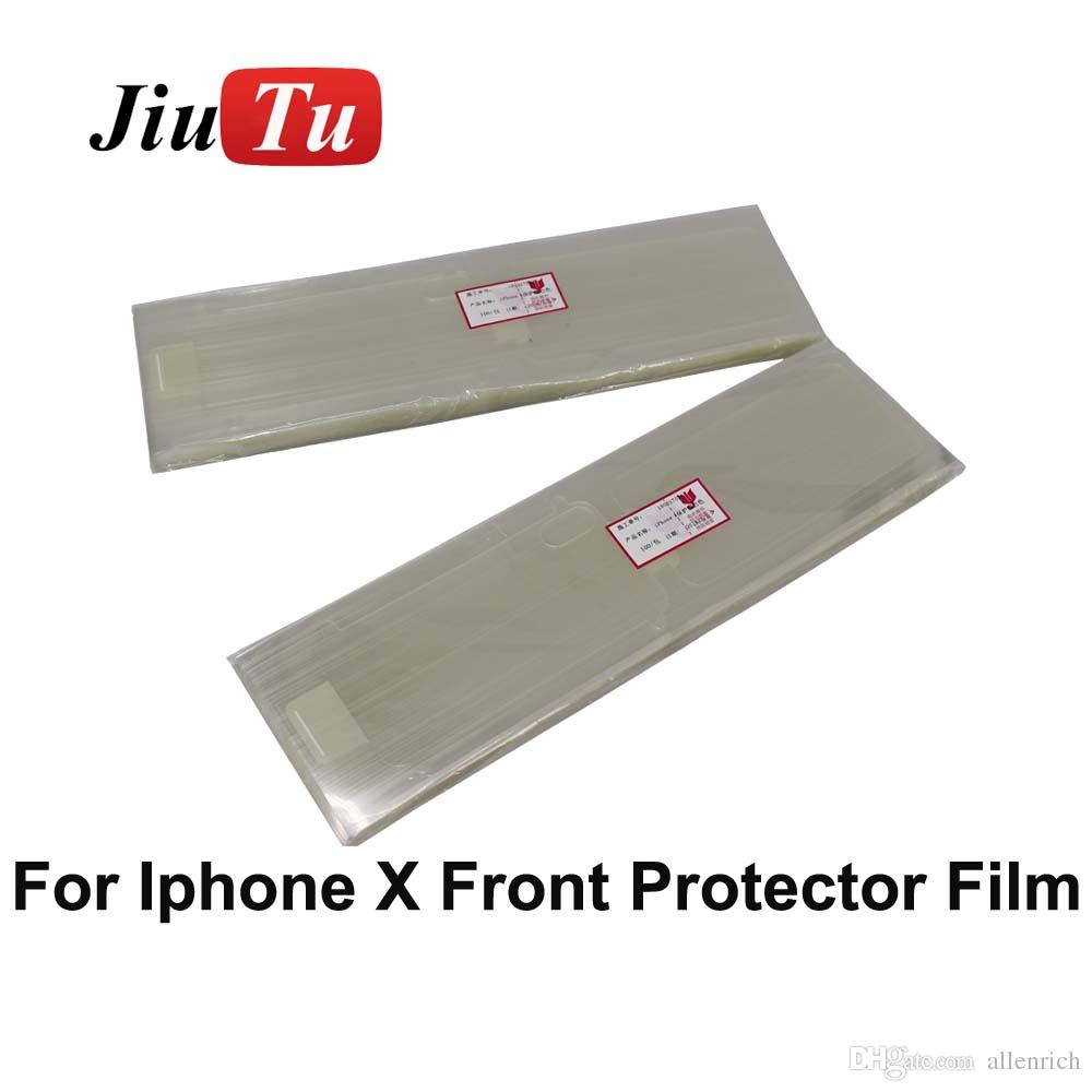 Factory Plastic Screen Protector Sticker Front Back Film For iPhone X Cracked LCD After Repair Fix JiuTu
