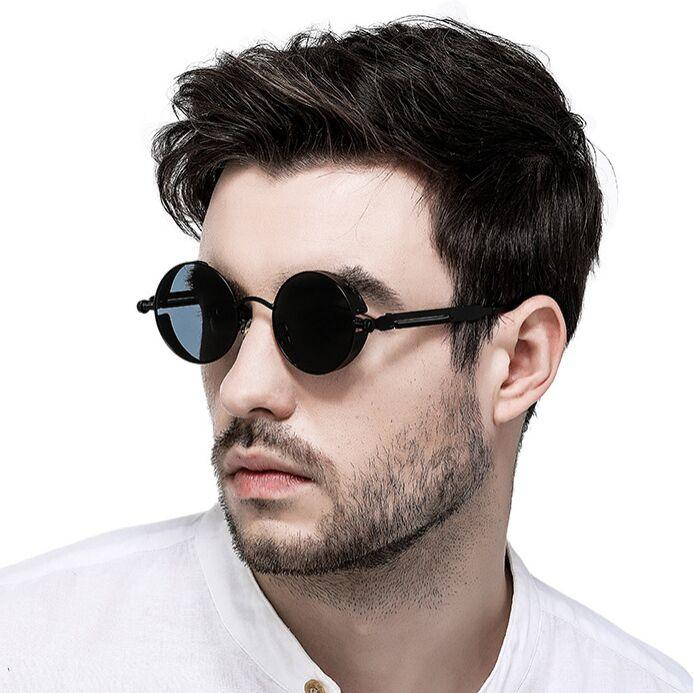 Polarized Sunglasses Unisex Lens fashion Round sunglasses couples sun glasses 16 color UV400 Driving goggles Free DHL FedEx TNT
