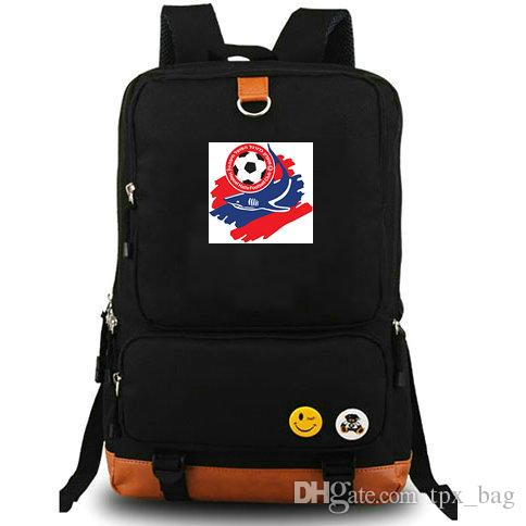 Haifa Rucksack Hapoel FC Daypack The Sparks Football Club Schoolbag Soccer Packack Backpack حقيبة كمبيوتر محمول حقيبة مدرسية في الهواء الطلق