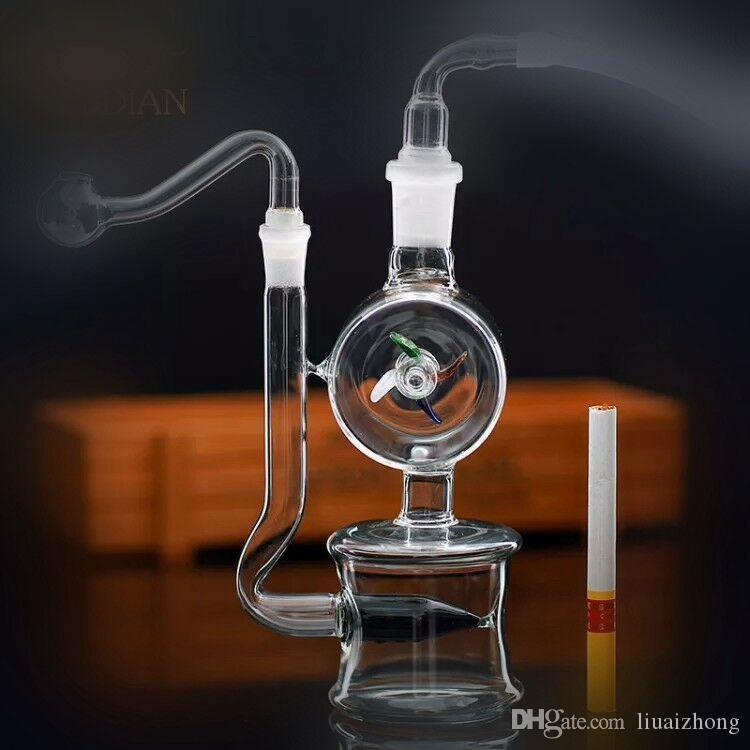 2018 новая ветряная мельница горшок бутылка воды бонг новое стекло полный горшок приготовления горшок трубы.