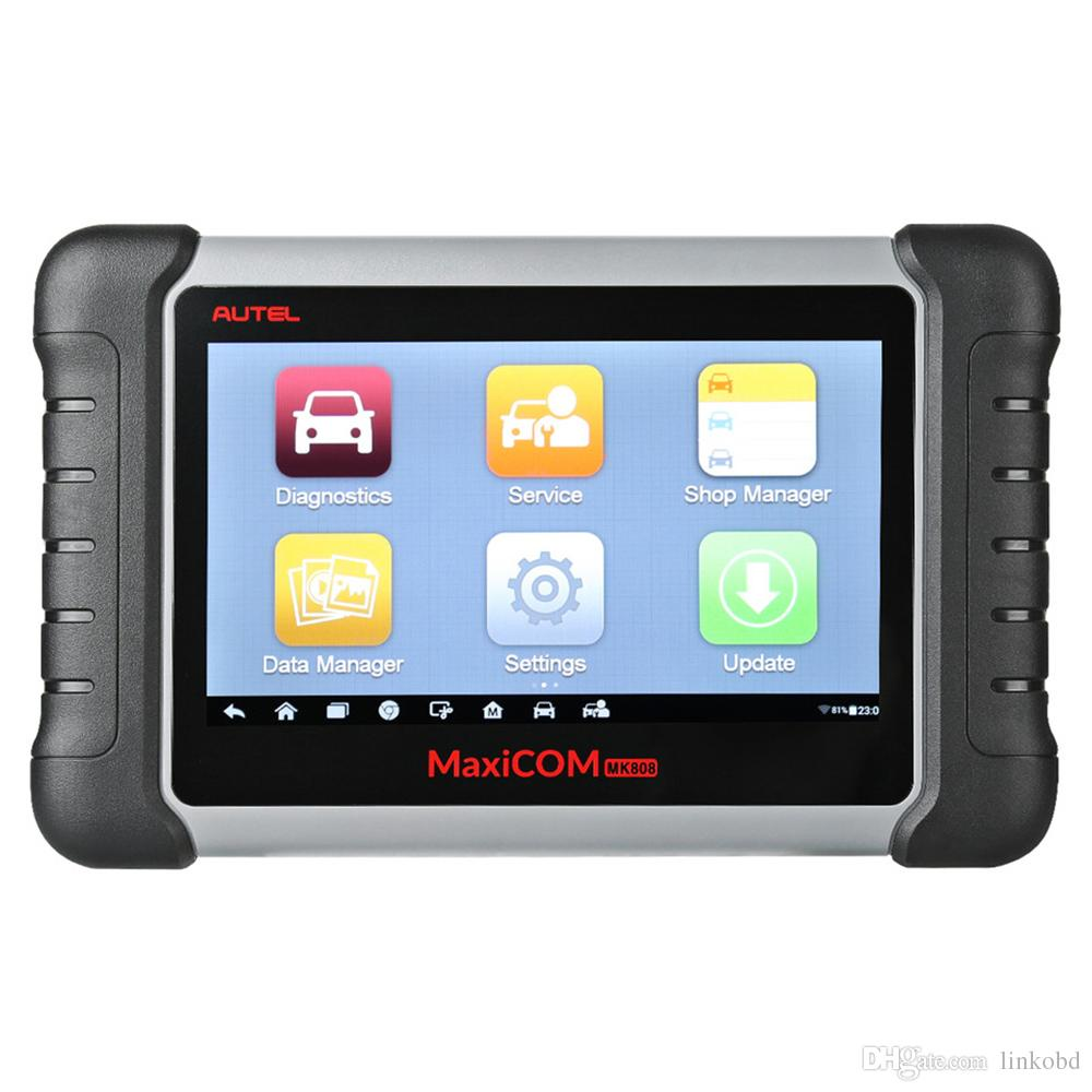 Autel MaxiCOM MK808 Automotive Diagnostic Scanner with IMMO/EPB/SAS/BMS/TPMS/DPF Service Code Reader Scan Tool
