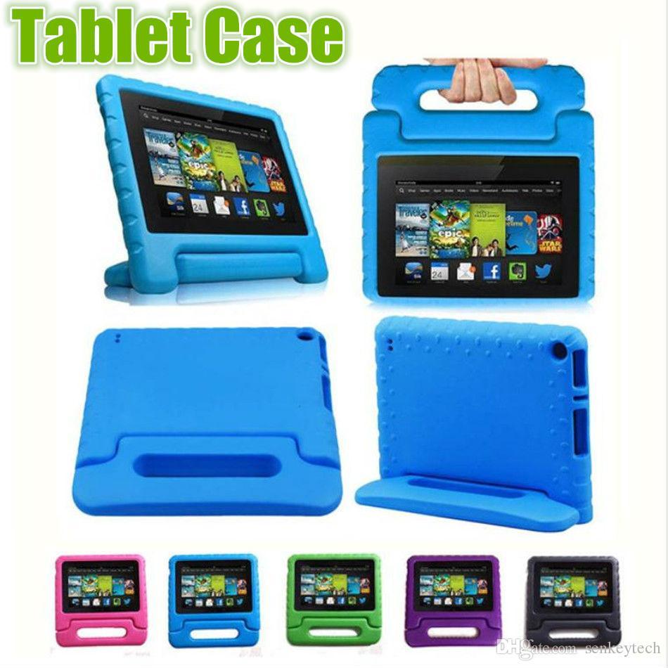 Kids Children Handle Stand EVA Foam Soft Shockproof Tablet Case For Apple iPad Mini 2 3 4 Ipad Air ipad pro 9.7