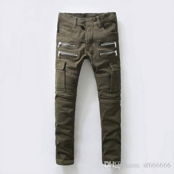 2019, los nuevos jeans de moda para hombre de verano de Europa y América son jeans casuales para hombres # 049