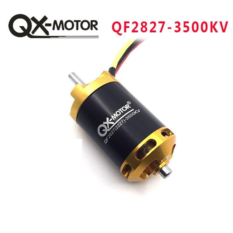 QX-Двигатель Новый QF2827 3500KV Бесщеточный мотор для RC Racing Лодки Модель DIY Лодки Моторные Части