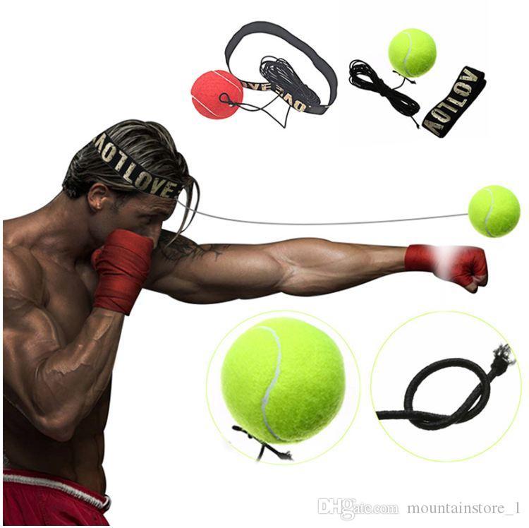 Boxing Equipment Fight Boxeo ball Training Accessories Reflex Speed Ball Muay Thai Trainer Quick Response Ball Punching
