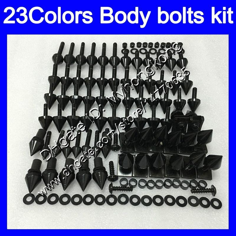 boulons Carénage kit complet de vis pour Triumph Daytona 675 02 03 04 05 06 07 08 2002 2003 2004 2005 06 2008 Kit boulon écrou vis Nuts Body 25Colors