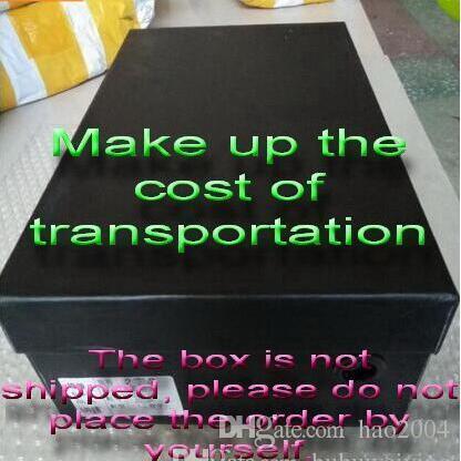 Schuhkarton Der Karton kann den Kunden kostenlos zur Verfügung gestellt werden, kostet jedoch $ 5 für den Transport, zusätzliche Transportkosten