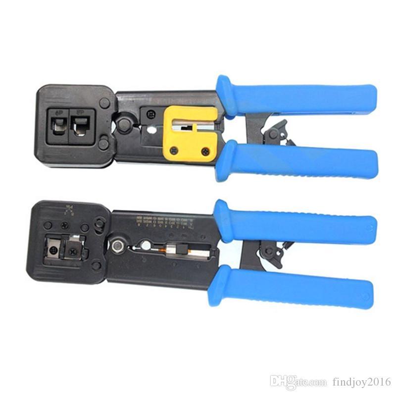 Network Tools RJ11 EZ RJ45 Pliers crimper Crimping Cable Stripper pressing line clamp pliers tongs for network EZrj45 connectors