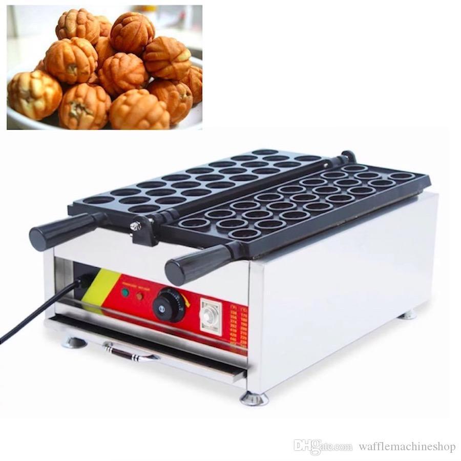 Ceviz Kek Makinesi Mini Waffle Kek Makinesi Elektrikli 110 V 220 V Güney Kore Ticari Snack Gıda Ekipmanları