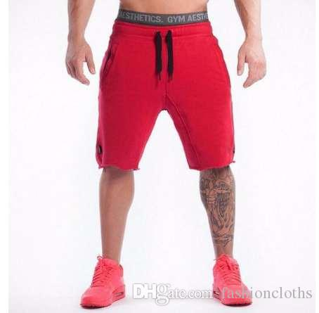 Gyms body Engineers New Summer Mens Shorts Sporgymt Casual Short Brand Shorts de la ropa Hombres Jogger Pantalones Longitud de la rodilla Shorts