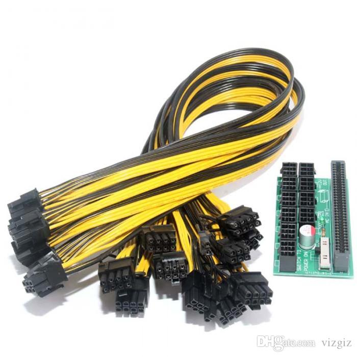 10pcs Cable for HP 1200w//750w Power Module Mining Ethereum Best Breakout Board