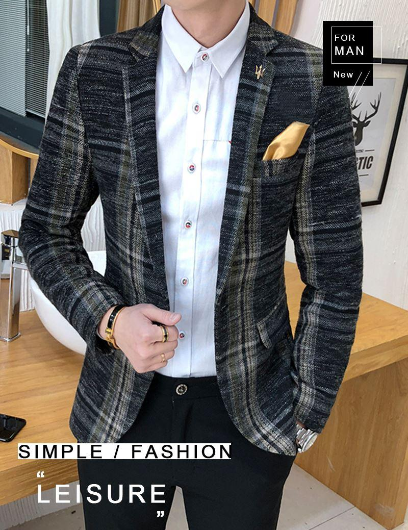 Suit Collar Men Jacket (1)
