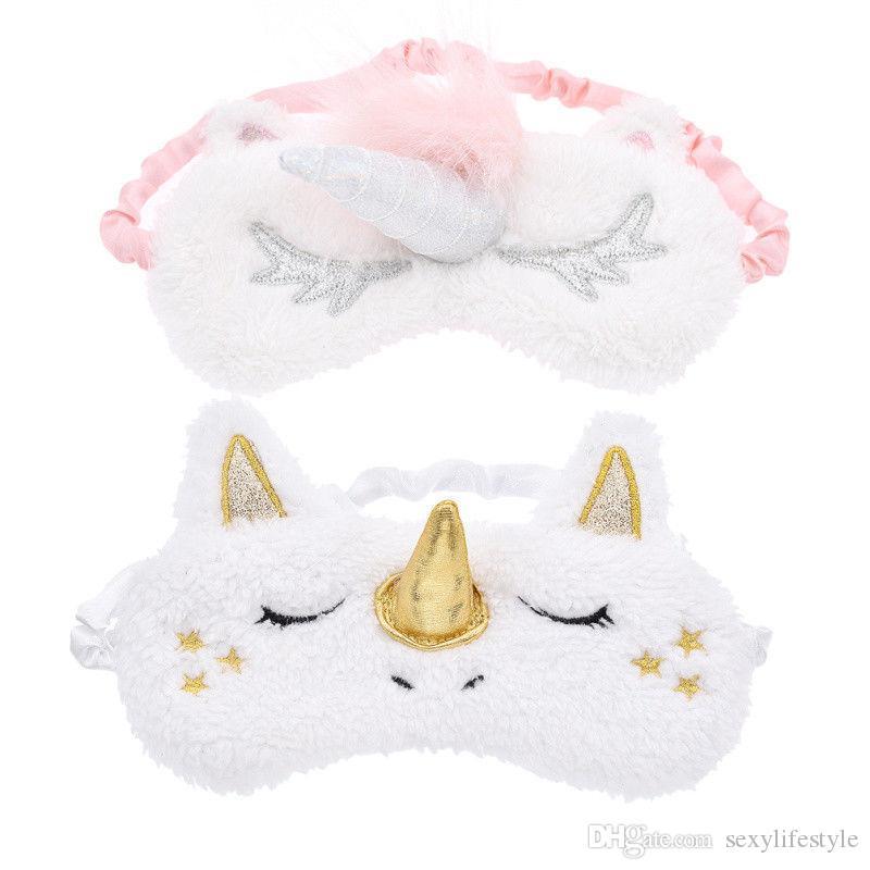 1 stück Cartoon Schlafmaske Plüsch Augen Schatten Abdeckung Augenbinde Eyeshade Geeignet Für Reisen Hause