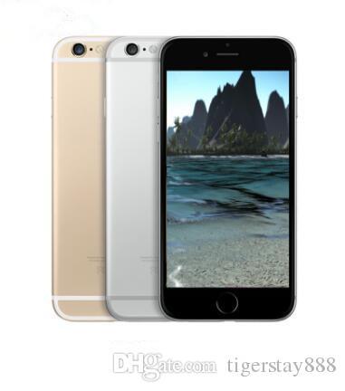 5pcs 애플 아이폰 6 잠금 해제 된 휴대 전화 4.7 인치 16GB / 64GB / 128GB A8 IOS 8.0 4G FDD 지문이없는 휴대 전화