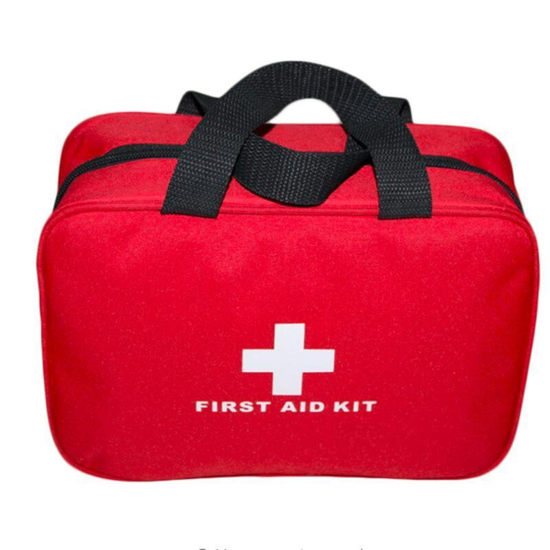Promotion First Aid Kit Big Car First Aid kit Large outdoor Emergency kit bag Travel camping survival medical kits Wholesale free shipping