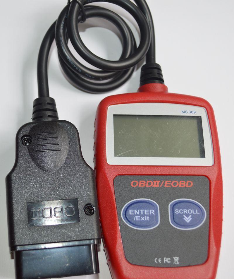 MS309 CAN OBD2 Code Reader Scanner MS 309 Can OBD 2 OBDII EOBD Car Auto Code Reader KW806 Vehicle Diagnostic Tools DHL
