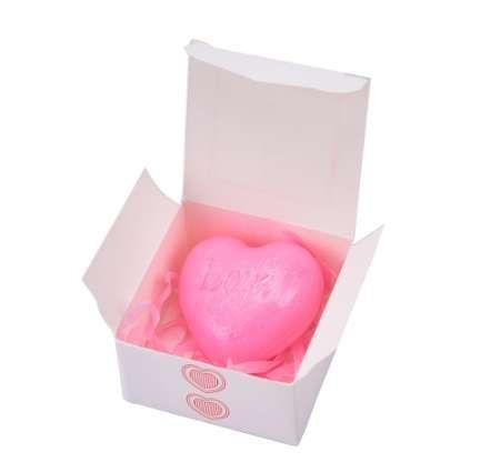 الحب اليدوية على شكل قلب تصميم حمام الصابون حفل زفاف الحب هدية عيد الحب هدية بالجملة