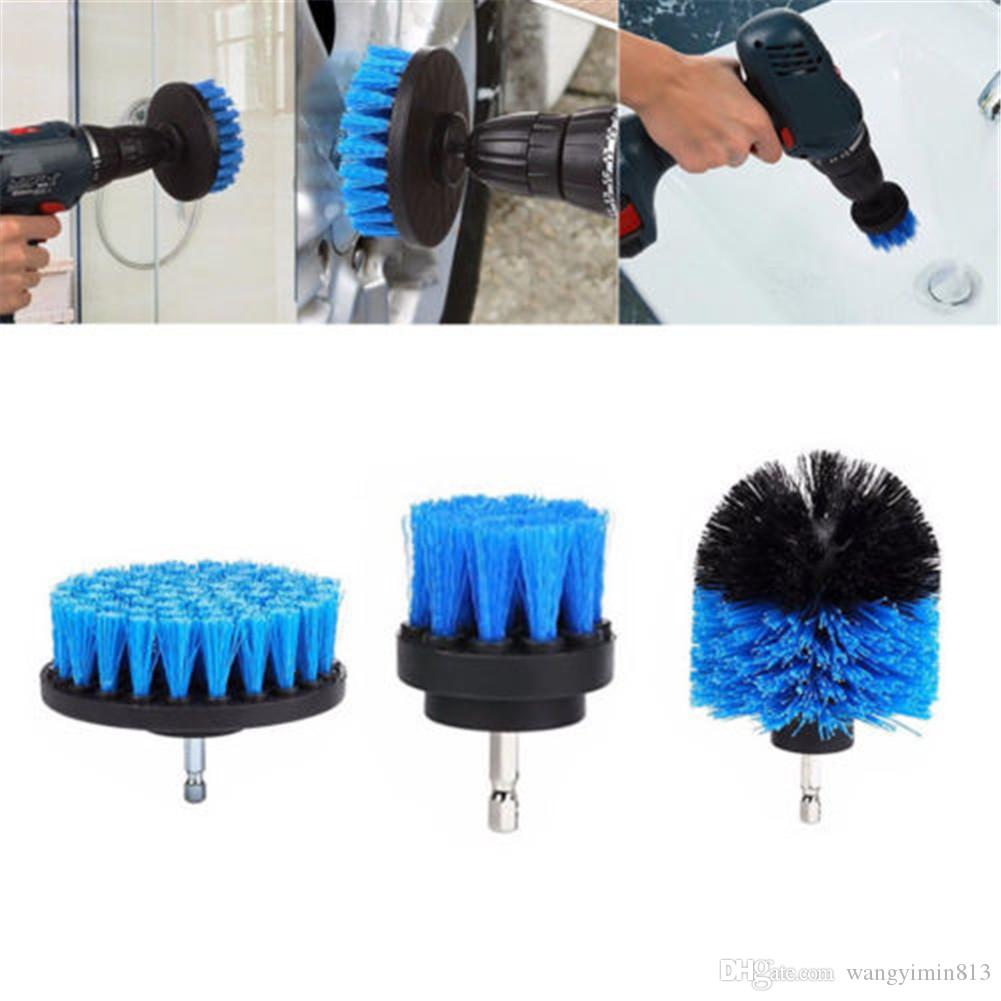 2021 Blue Power Scrubber Brush Set For Bathroom Drill Scrubber Brush For Cleaning Cordless Drill Attachment Kit Power Scrub Brush From Wangyimin813 6 03 Dhgate Com