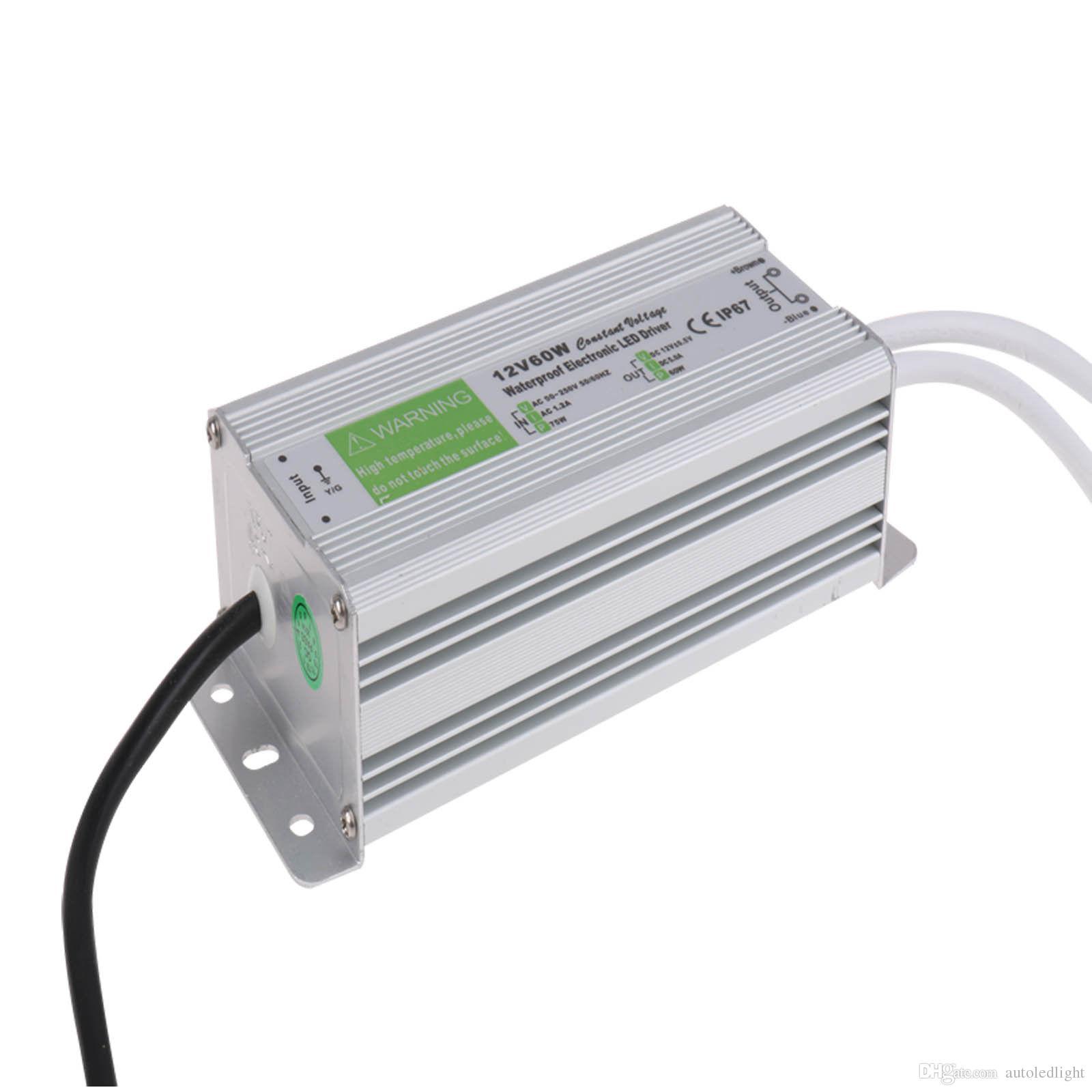 12V 200W 150W 100W 60W 45W 30W 20W 10W LED Driver Power Supply Waterproof Outdoor IP67