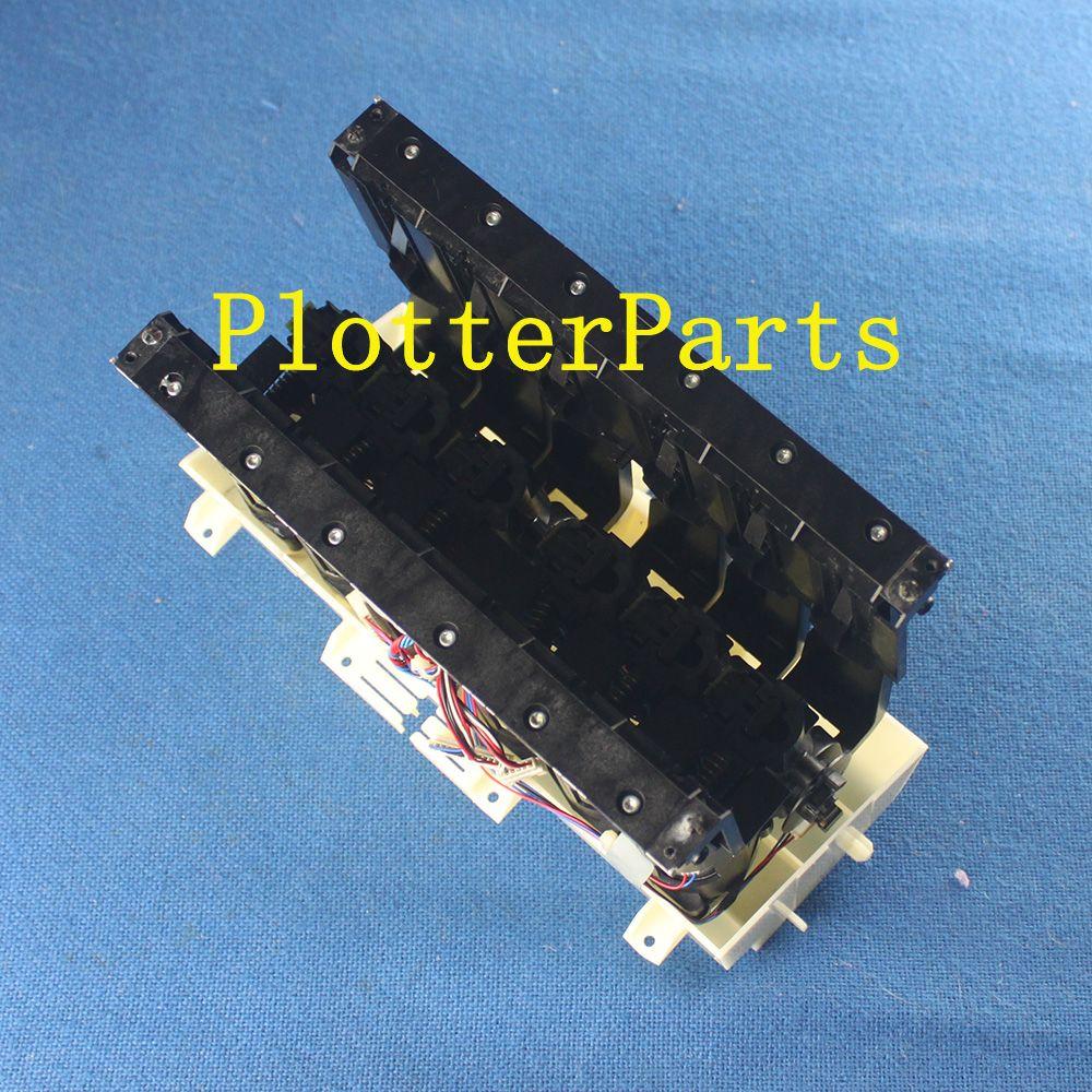 Q6683 - 60188 левая станция подачи чернил для HP Designjet T610 T620 T770 T790 T1100 T1200 t1300 части плоттера Оригинал используется