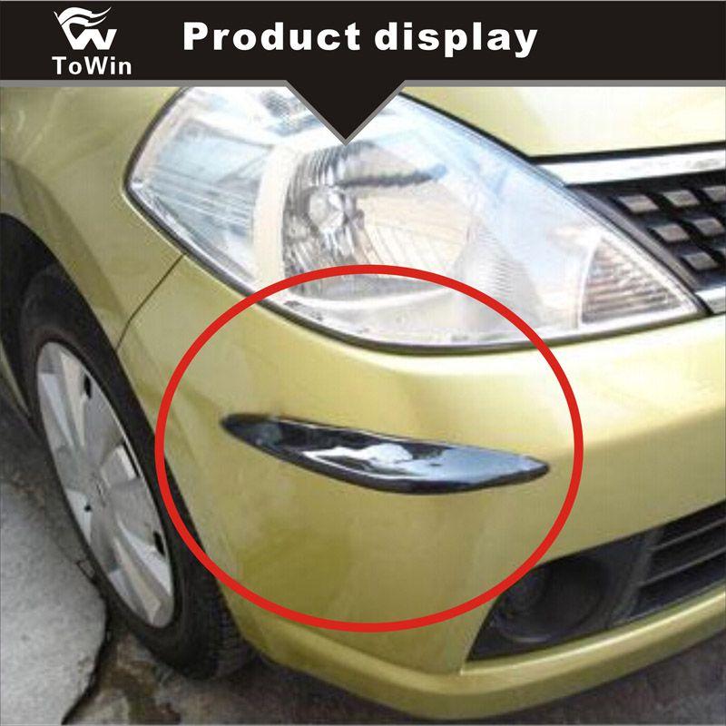 Araba Vücut Koruyucusu Özel Çarpışma Önleyici Şerit 4 Köşeyi Korumak için Araç Vücut Oto Anti-Çizik Şerit Evrensel