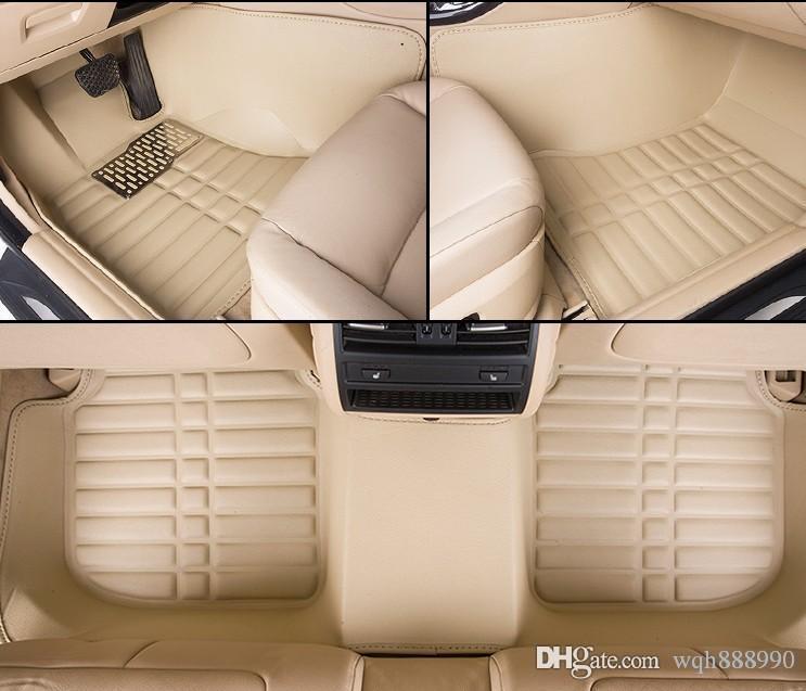 Tappetini per auto di qualità CHigh per BMW serie 3 F30 F31 F34 GT Gran Turismo 318i 320i 328i 335i 340i 320d 325d 330d 3D rivestimenti per tappeti